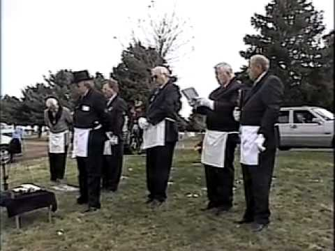Bill Wood Masonic Funeral