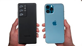 Samsung Galaxy S21 Ultra ПРОТИВ iPhone 12 Pro Max!!! Сравнение. Что купить?