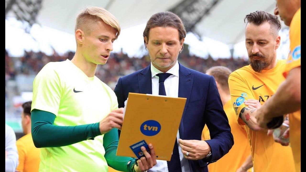 Kulisy meczu, Piotr Kraśko i Radosław Majdan #wielkimecz