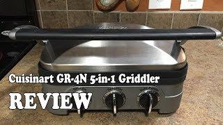 Cuisinart GR-4N 5-in-1 Griddler - Review 2019
