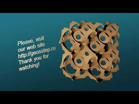 3D Modeling Porous Bone-like Internal Lattice Structures
