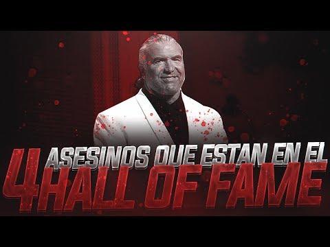 4 Asesinos que estan en el Hall Of Fame WWE