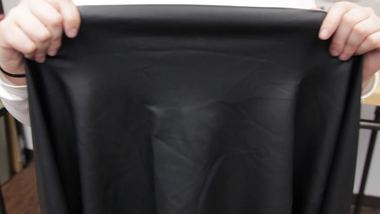 Black Stretch Dty Pleather