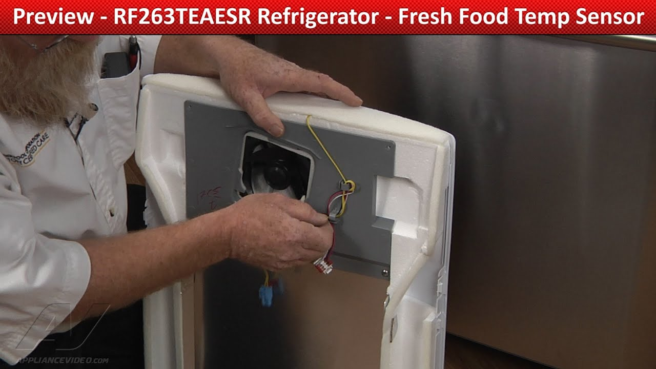 Fresh Food Temperature Sensor Rf263teaesr Samsung