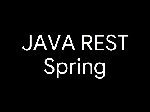 JAVA REST Spring GlassFish JPA