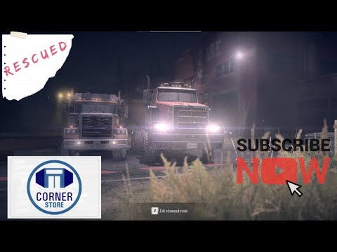SpinTires MudRunner: AMERICAN WILDS! Let's Play, Part 1: Rescuing Crashed Truck  