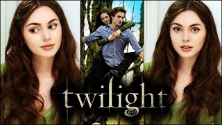 "Bella swan everyday ""no-makeup makeup"" & soft curls 