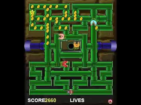 Mario PacMan [Windows PC] Gameplay