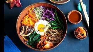 Tofu Bibimbap (Korean Mixed Rice)