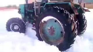 ЮМЗ 6 КЛ турбо 4Х4 с передним мостом от газ 66