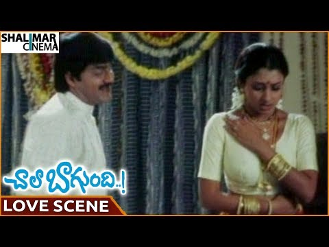 Chala Bagundi Movie || Srikanth & Malavika Superb Love Scene || Srikanth, Malavika || Shalimarcinema