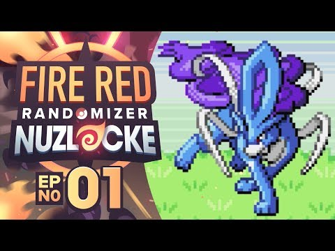YOU CAN'T BE SERIOUS?! - Pokémon Fire Red Randomizer Nuzlocke W/ Supra! Episode #01