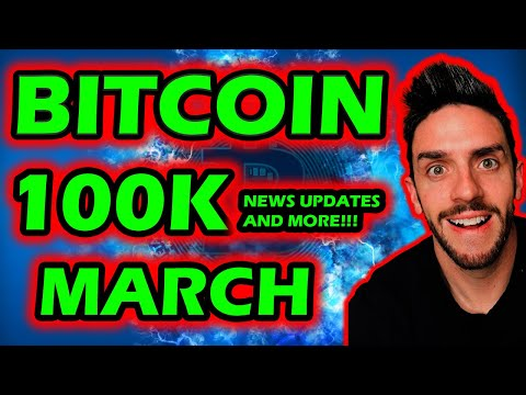 BITCOIN 100K MARCH! AND WHY CRYPTOS CRASHED! BITCOIN NEWS , PRICE PREDICTIONS AND UPDATES! BTC TODAY