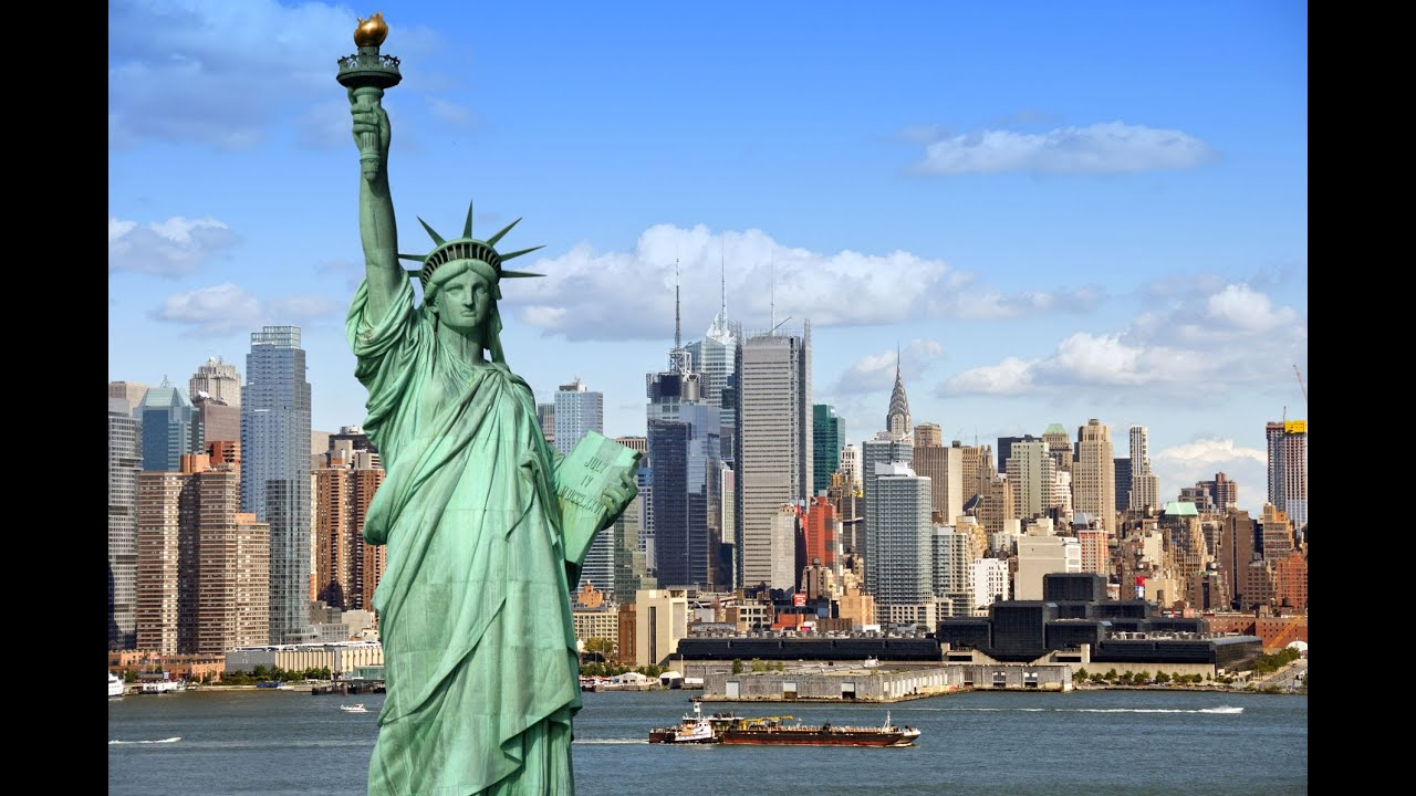 Statue Of Liberty In New York Usa Famous Place Finder