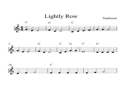 Lightly Row Digital Sheet Music Piano Organ Keyboard Kindle Book 1 Youtube