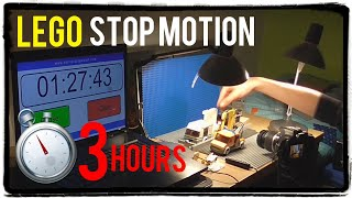 Making LEGO Stop Motion in just 3 HOURS thumbnail