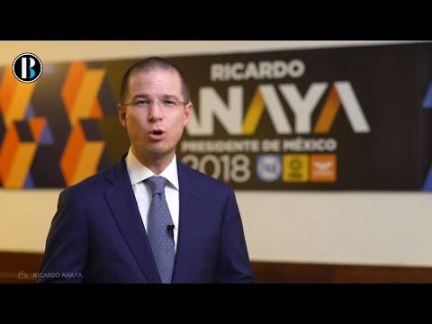 Ricardo Anaya responde a los nuevos ataques y responsabiliza a Peña Nieto