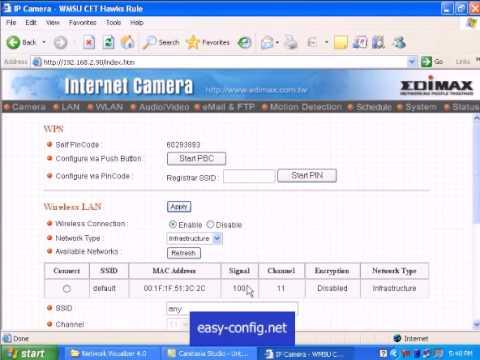 Edimax IC-1500 Network Camera Windows Vista 32-BIT