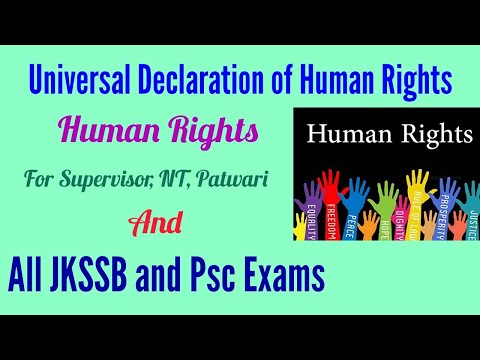 Human Rights II Explanation in Urdu /Hindi