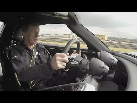 Walter Röhrl im Porsche 918 - Video