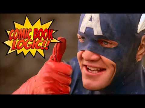 Comic Book Logic Captain America 1990