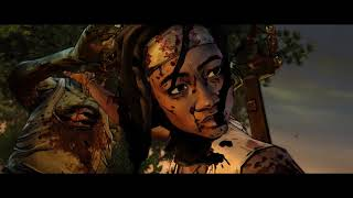 The Walking Dead: Michonne. Давай попробуем. Лучше посмотреть сериал чем это)))