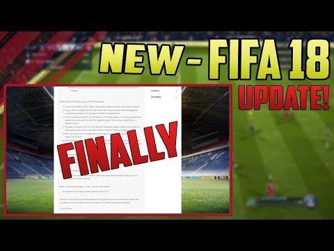 FIFA 18 Pro Clubs | HUGE UPDATE! They've FINALLY done it!