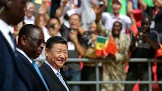 Le président chinois en visite au Sénégal