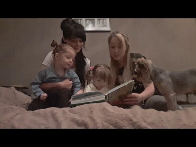 Изображение предпросмотра прочтения – «Две семьи» читают произведение «Сказка теремок» (Русский фольклор )