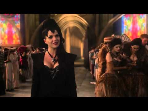 Once Upon A Time 1x01 Pilot The Evil Queen At Snow White And Prince Charming S Wedding