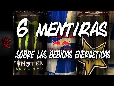 6 MENTIRAS DE LAS BEBIDAS ENERGÉTICAS