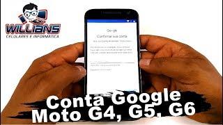 Conta Google 2019  Moto G4, G4 Plus, G5, G5 Plus, G6, G6 Plus, Desbloquear, Restaurar Video