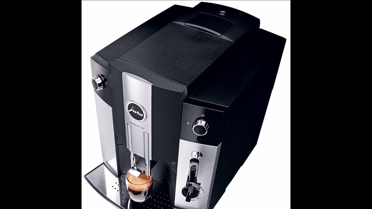 impressa c65 automatic coffee machine platinum
