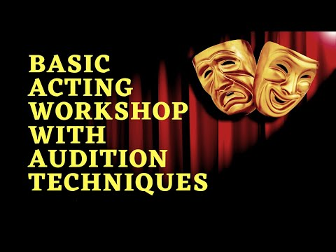 ACTING WORKSHOP FOR BEGINNERS - Welcome to BOLLYWOOD