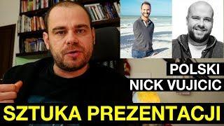 Polski Nick Vujicic - sztuka prezentacji [Tomasz Manikowski]