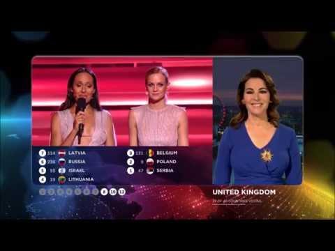 Eurovision 2015 : Vote Of United Kingdom (HD) (1080p)