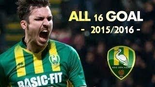 ハーフナー・マイク 15 16 全16ゴール Mike Havenaar All 16 Goals 2015 2016