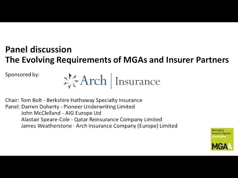 The evolving requirements of MGAs and Insurer Partners