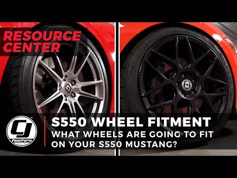 S550 Mustang wheel fitment options | Finding the perfect wheel setup for function and form