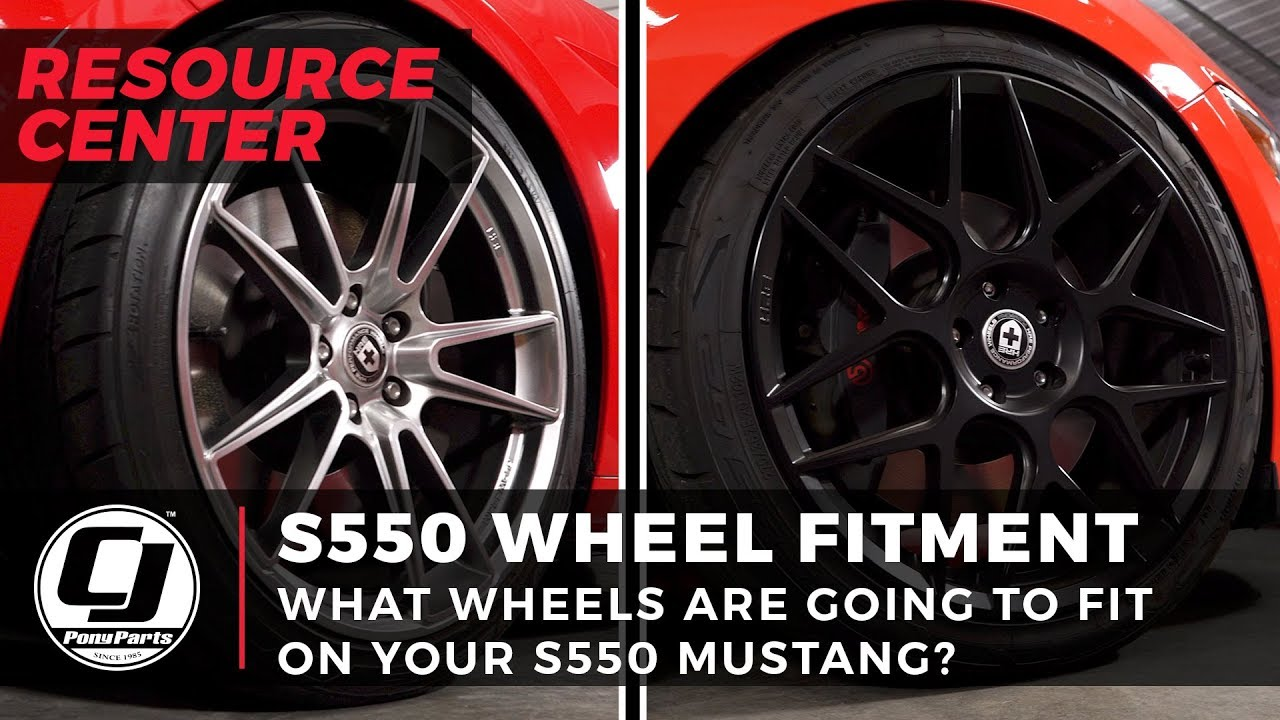 2015-2019 Mustang Wheel & Tire Buying Guide | CJ Pony Parts
