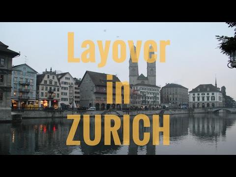 Layover in Zurich  | HIGHLIGHTS ✈️🚝