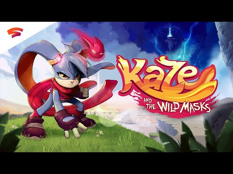 Kaze and the Wild Masks - Official Trailer | Stadia