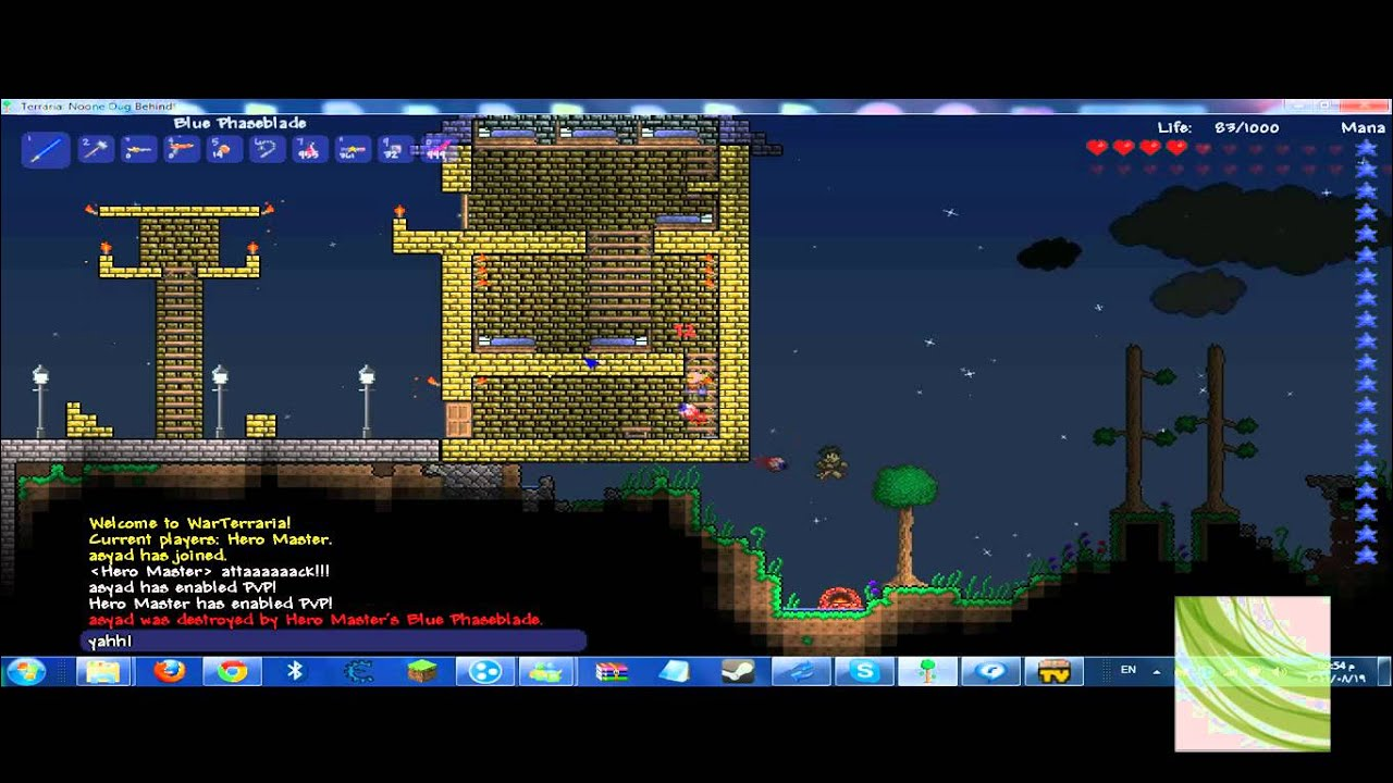 Terraria Join Server War Youtube