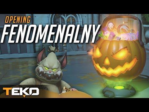 Otwieranie Halloweenowych Skrzyń - Fenomenalnie! [Overwatch] thumbnail