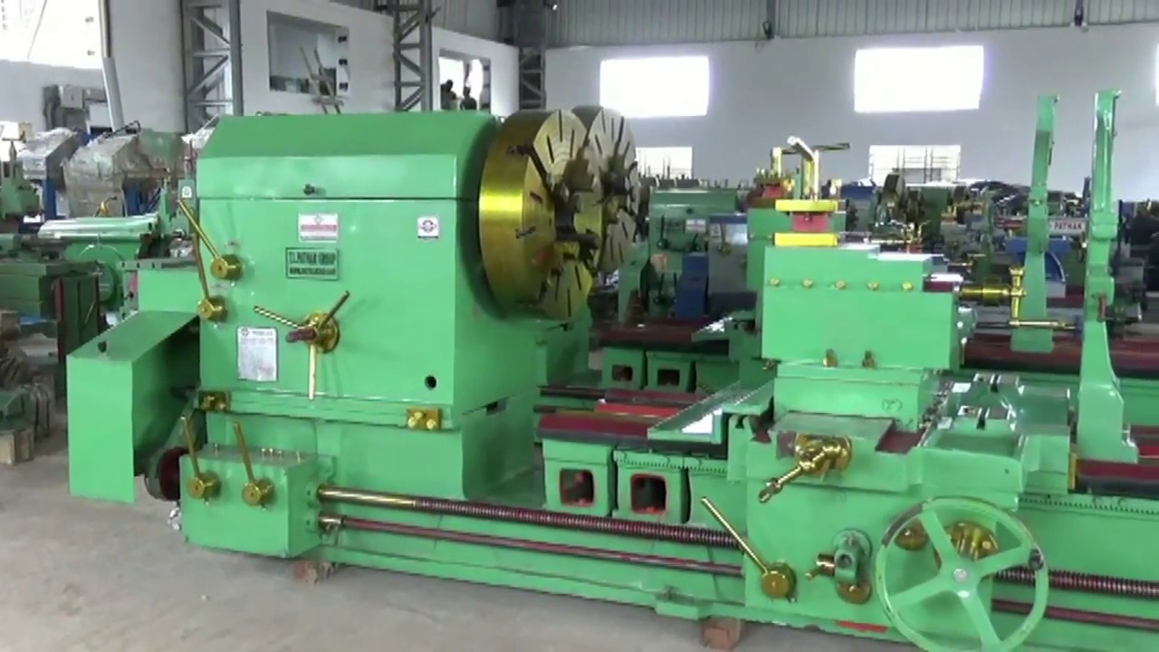 Extra Heavy Duty Lathe Machine Total Bed Length 20 Feet