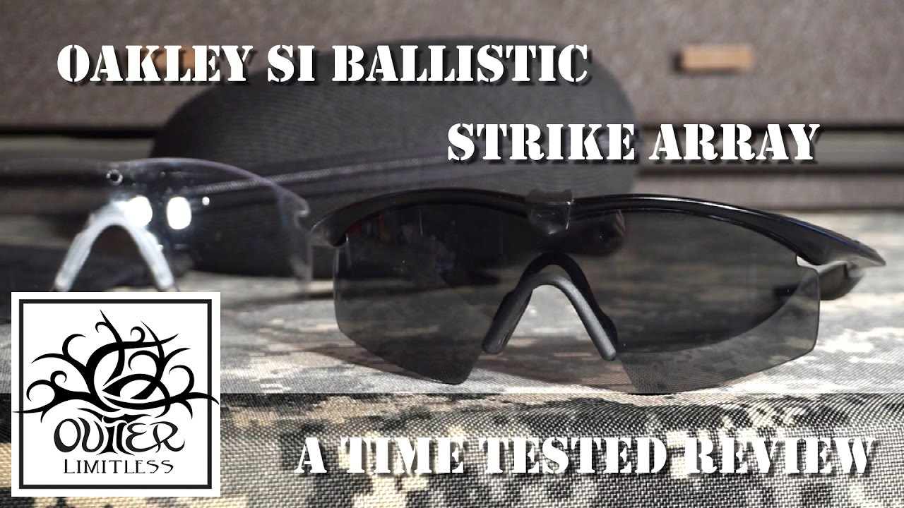 ea773d8d6a Oakley SI Ballistic Strike Array - A Time Tested Review - YouTube