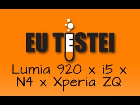 Nexus 4 x iPhone 5 x Xperia ZQ x Lumia 920 - Comparativo Brasil