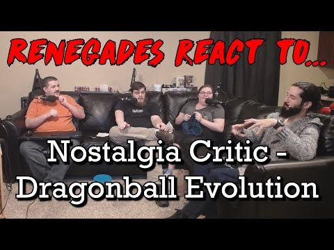 Renegades React to... Nostalgia Critic - Dragonball Evolution
