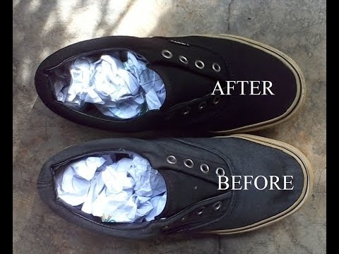 Vans Shoes Restoration |Cheapest way
