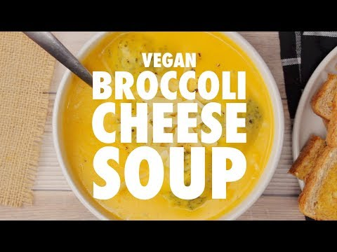 Vegan Broccoli Cheese Soup – Loving It Vegan